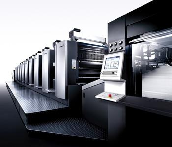 德國進口海德堡印刷設備2