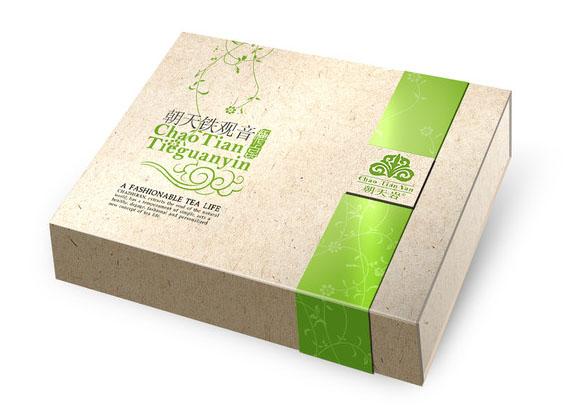 印刷精品茶叶礼盒包装?#35745;?4