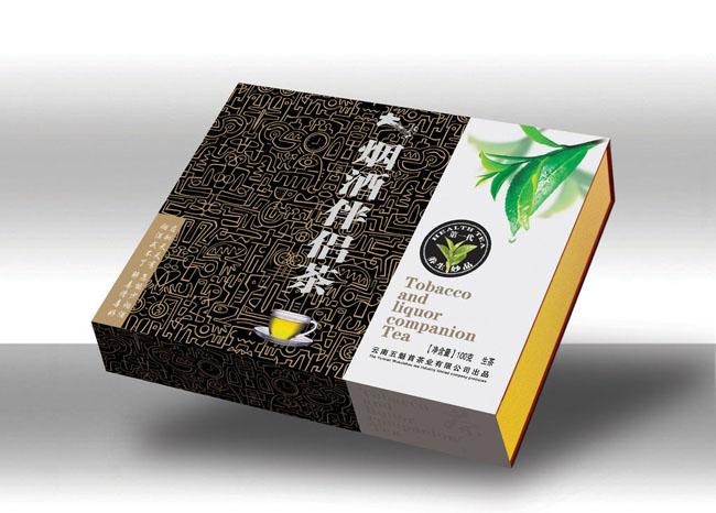 印刷精品茶叶礼盒包装?#35745;?5