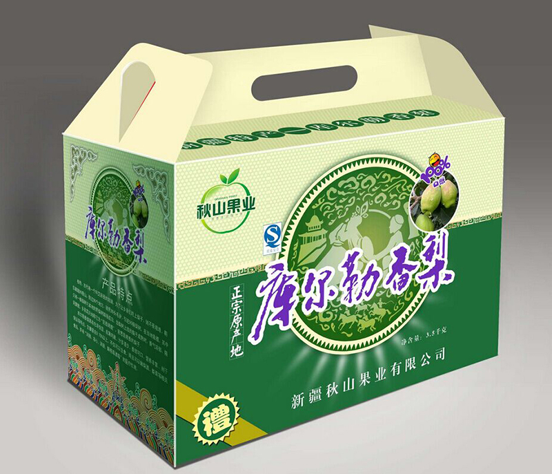 水果礼盒包装印刷