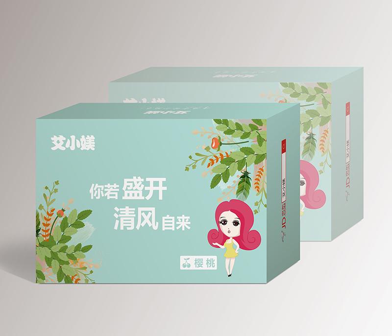 樱桃包装盒印刷