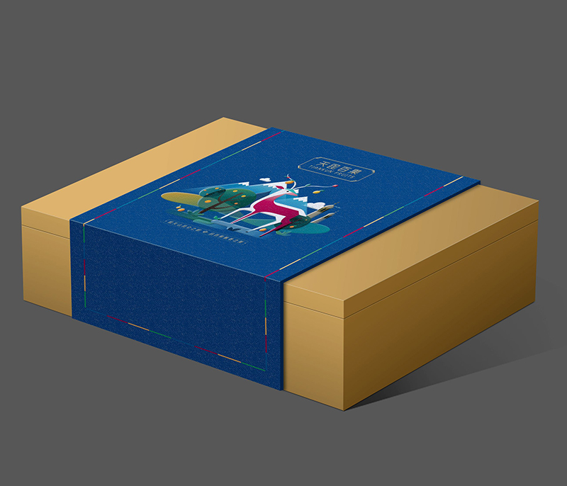 高档礼品包装盒印刷