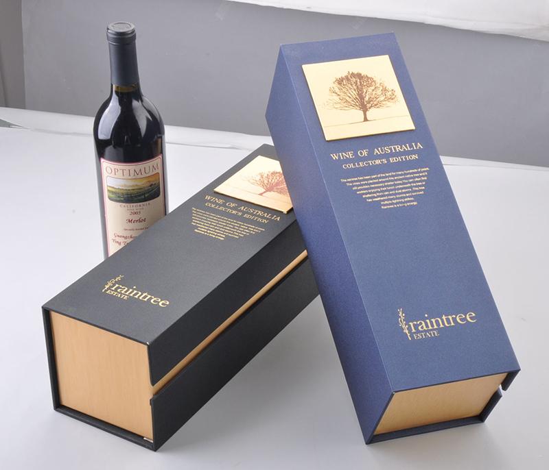 葡萄酒盒包装印刷