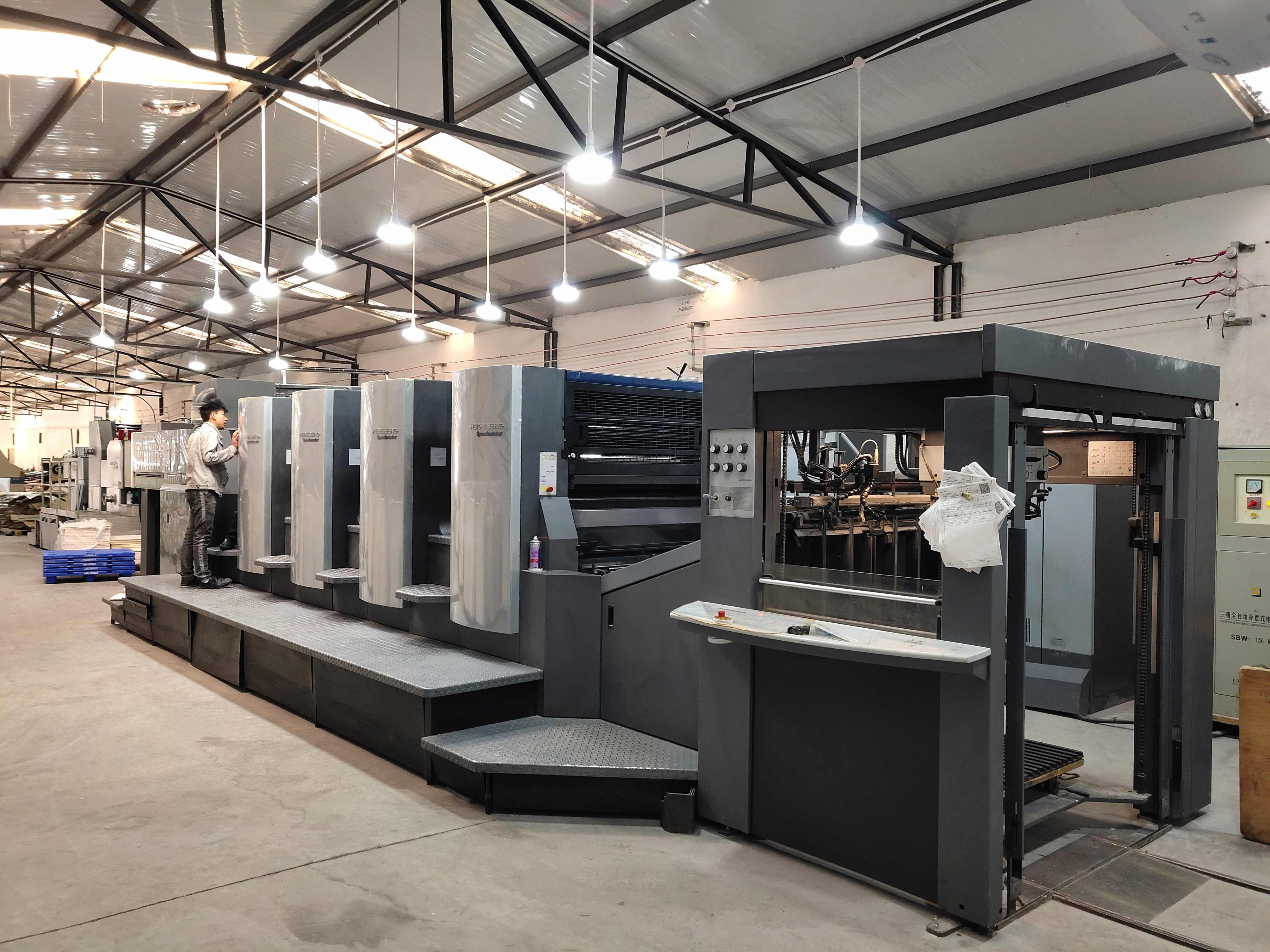 德国进口海德堡印刷设备3