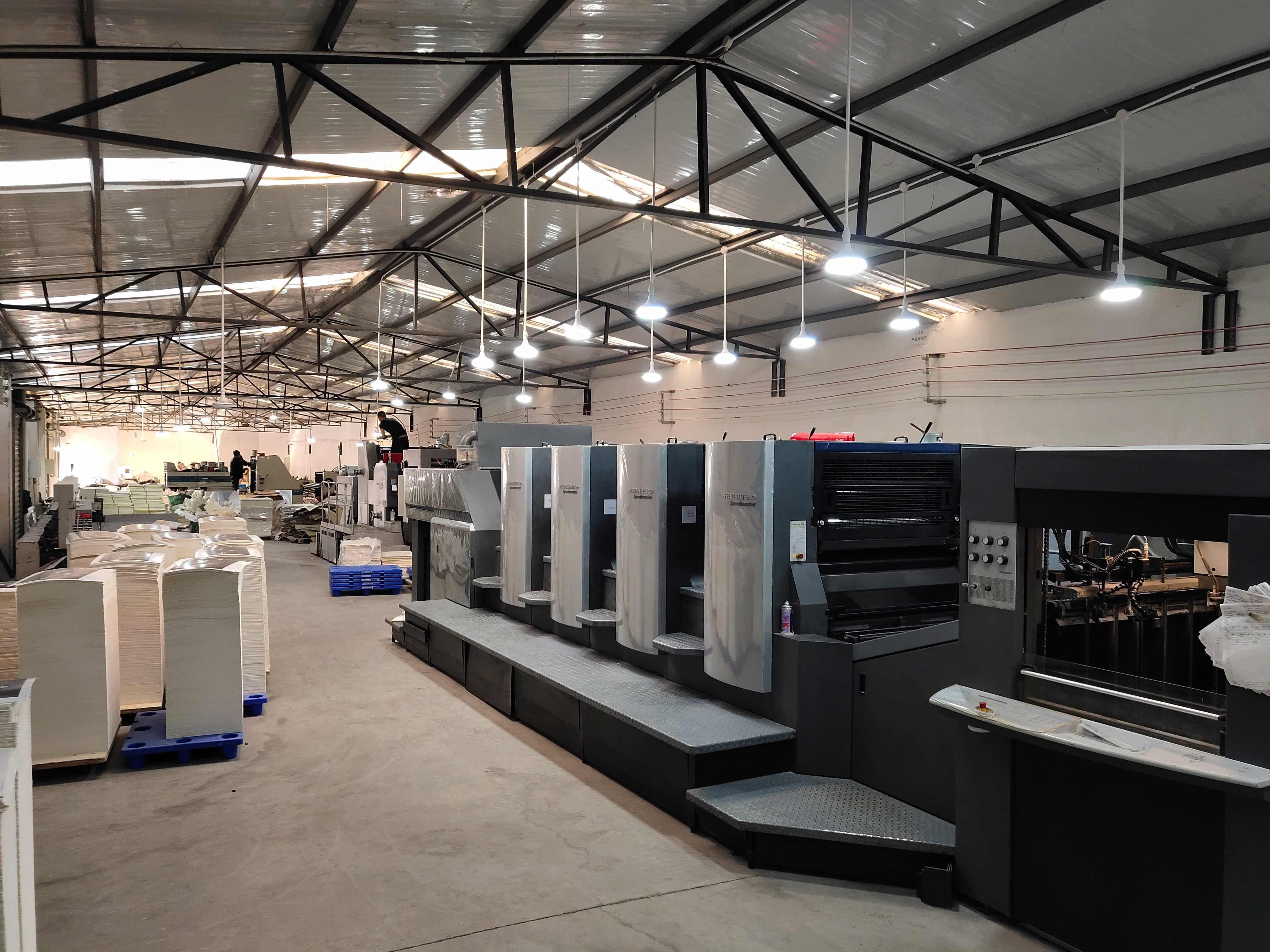 德国进口海德堡印刷设备5
