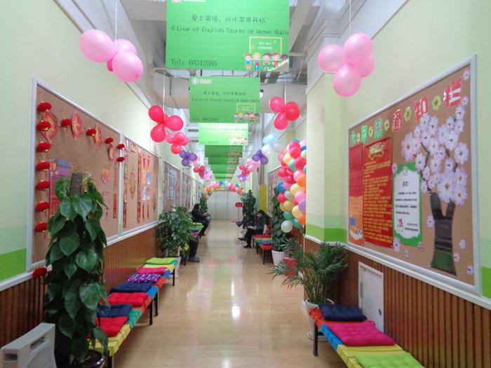 水平果紫都校區走廊