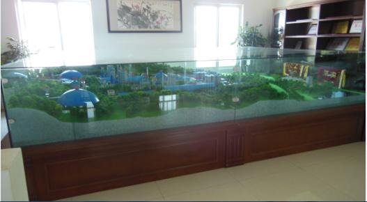 保山昆钢嘉华水泥厂沙盘模型制作