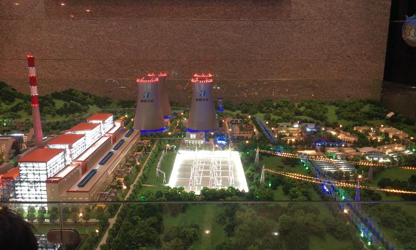 华能滇东电厂模型