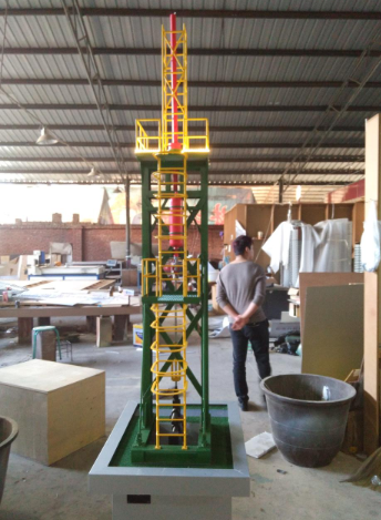 厂矿设备模型