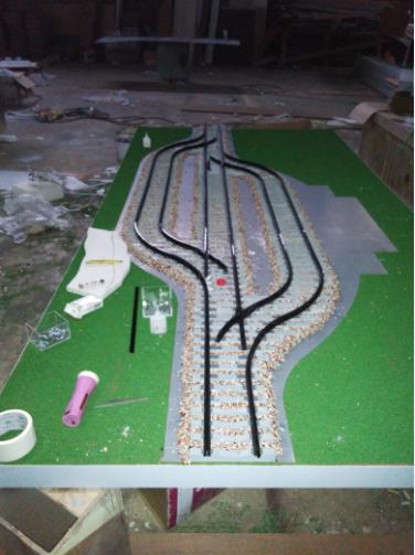 铁路沙盘模型