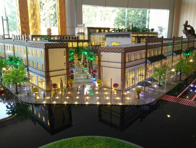 昭通微粉厂模型设计
