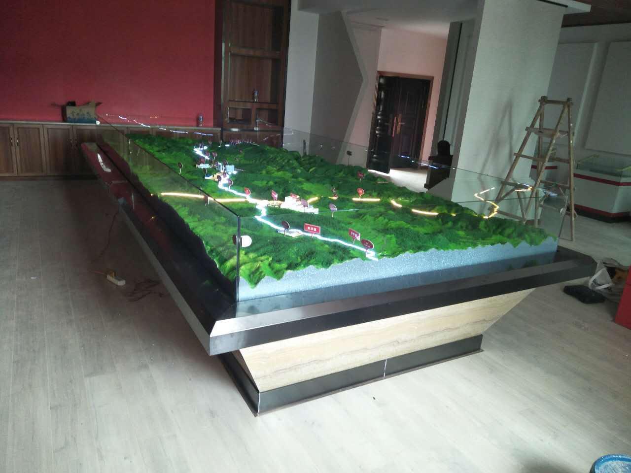 好的沙盘模型能给客户真实的视觉享受