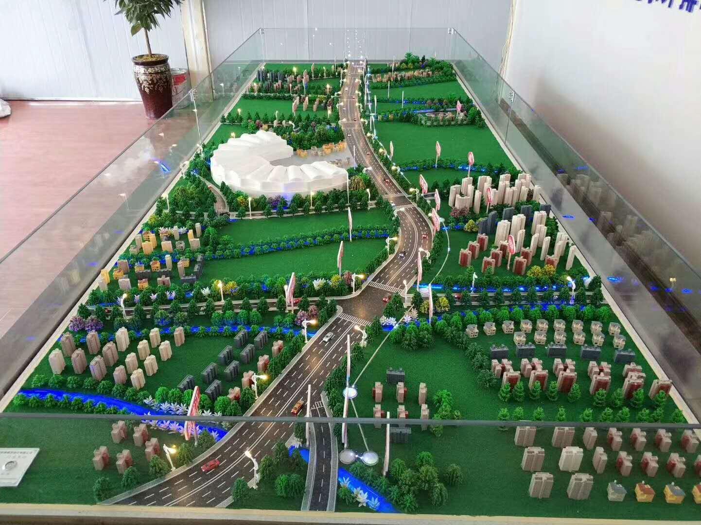 桥梁沙盘模型制作