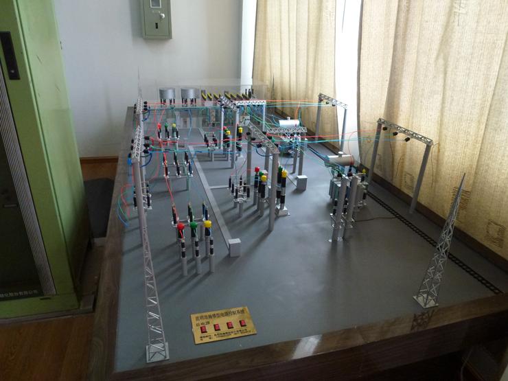 电厂沙盘制作模型展示