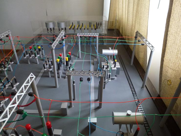 电厂沙盘模型制作案例