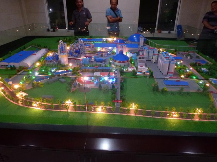 昆钢水泥厂沙盘模型制作案例展示