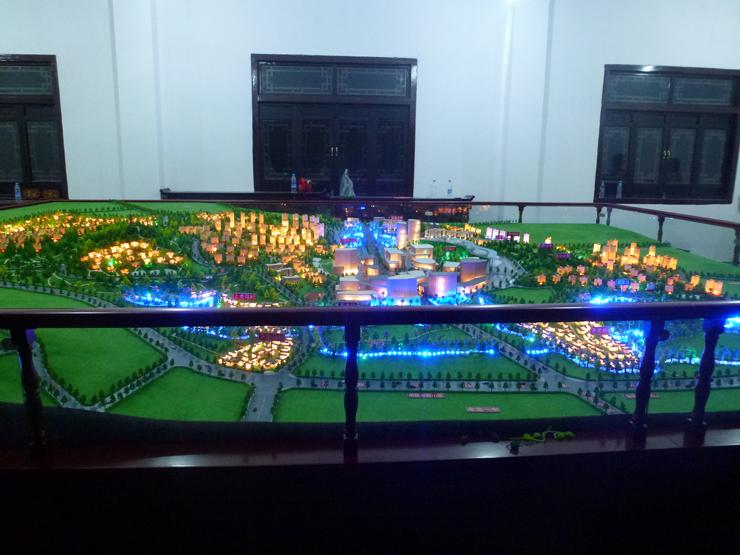 城市规划模型案例三