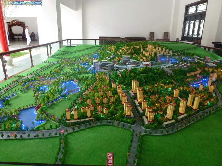 城市规划模型案例四