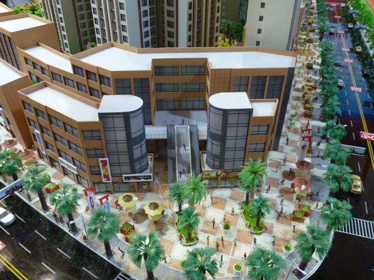 地产售楼模型案例三