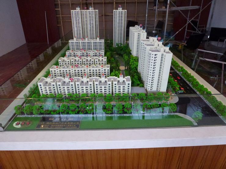 地产售楼模型案例六