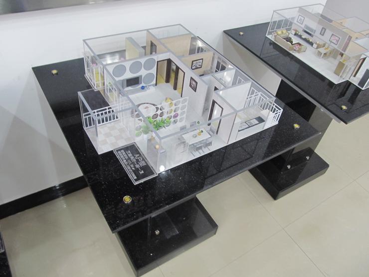 地产A户型沙盘模型