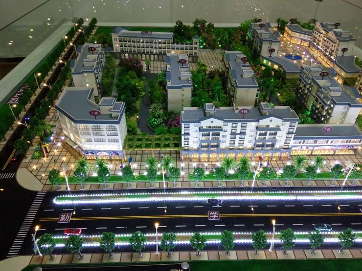 昆明地产售楼模型-系列1
