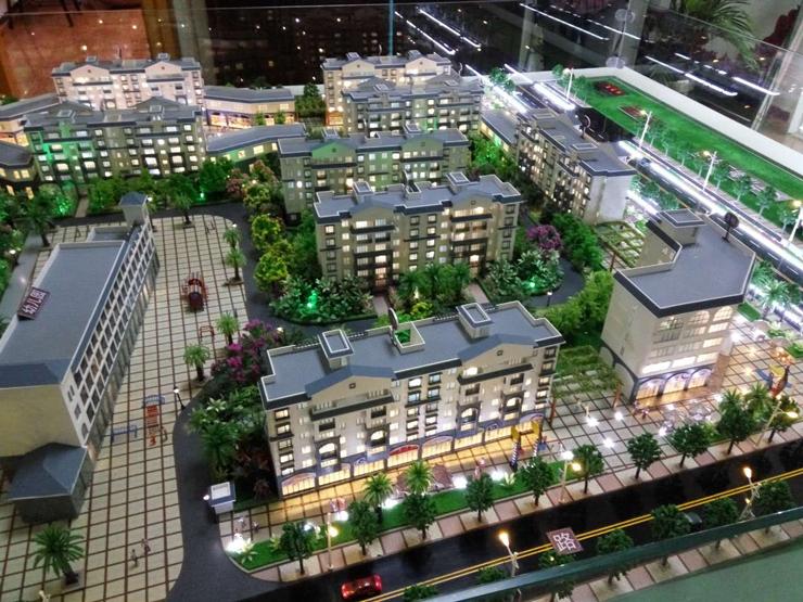 昆明地产售楼模型-系列2