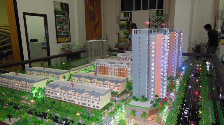 昆明地产售楼模型-系列3