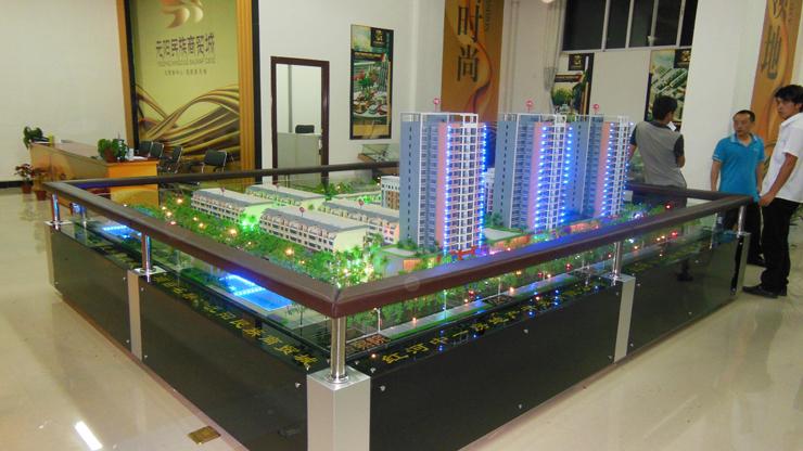 昆明地产售楼模型-系列4