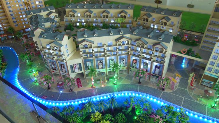 昆明地产售楼模型-系列7