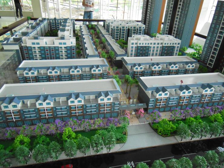 昆明地产售楼模型-系列8