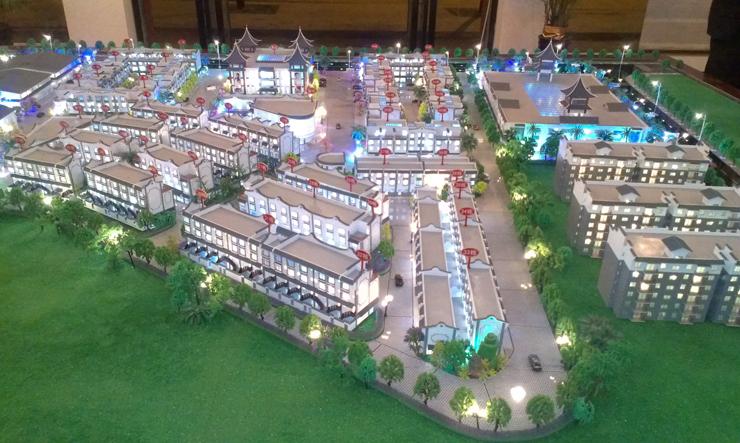 昆明地产售楼模型-系列9