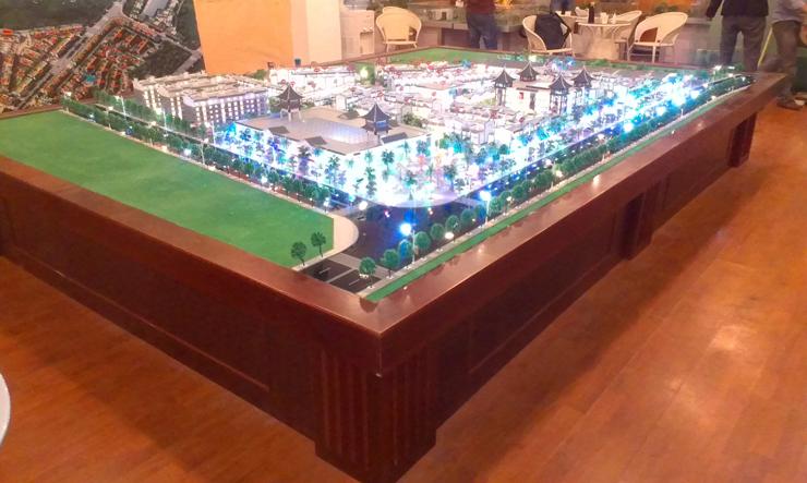 昆明地产售楼模型-系列10
