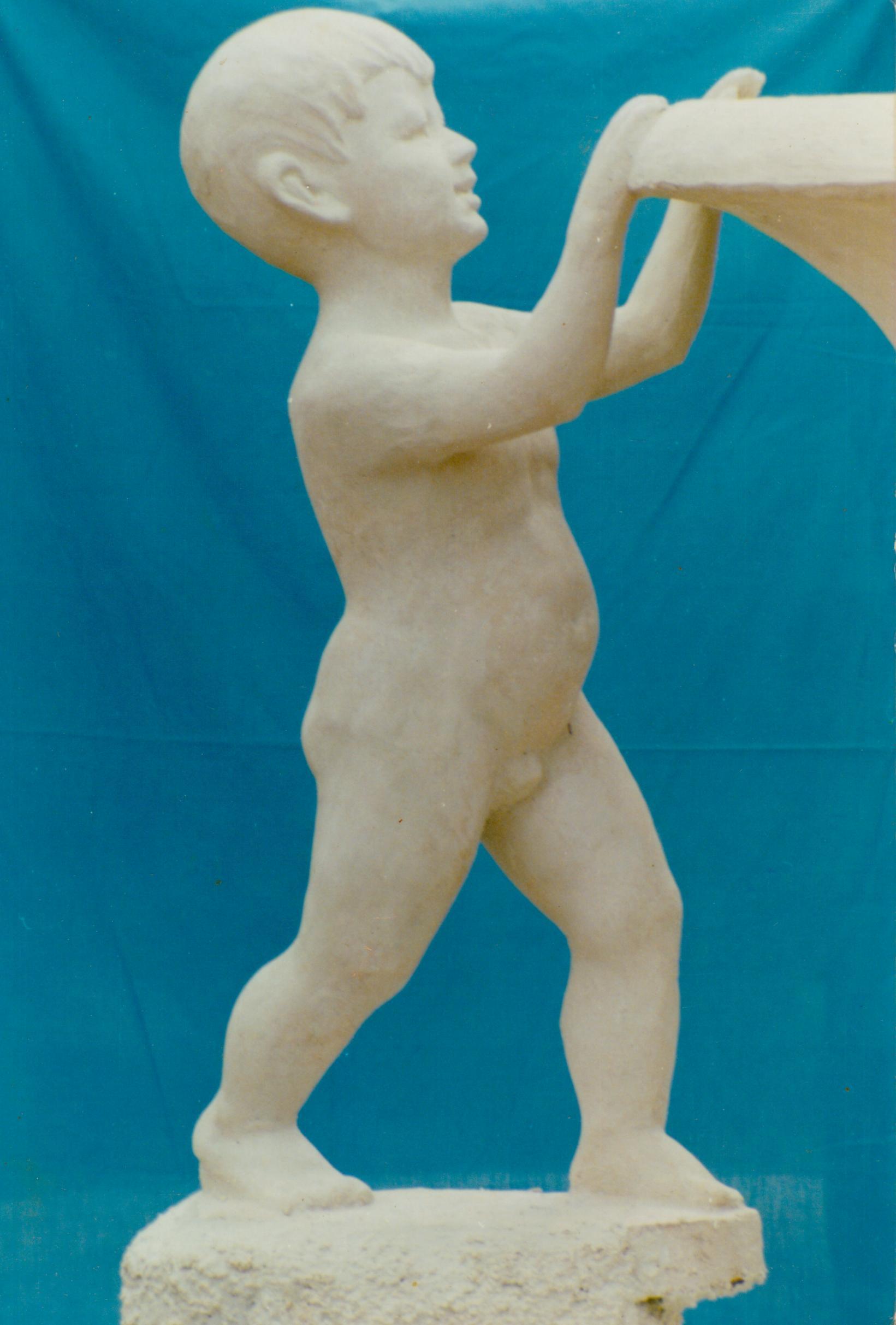 戏水雕塑(局部)