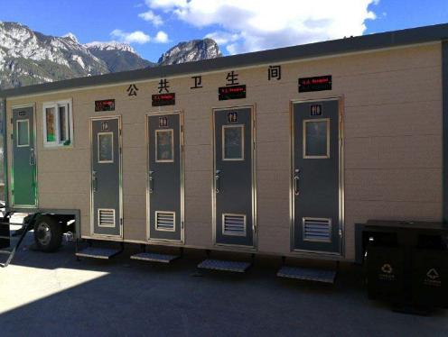 云南景区车载式环保移动厕所