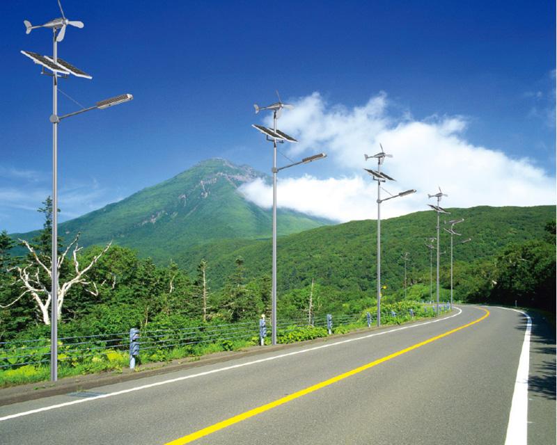 組合太陽能路燈