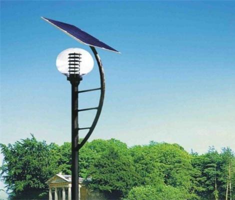 太陽能庭院燈工程案例