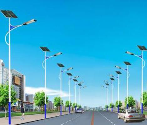 景觀太陽能路燈案例
