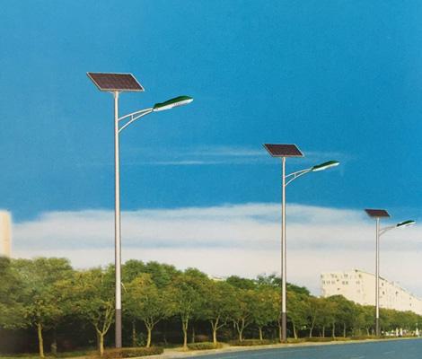 高桿太陽能路燈工程案例