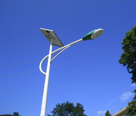 某上區景觀太陽能路燈案例