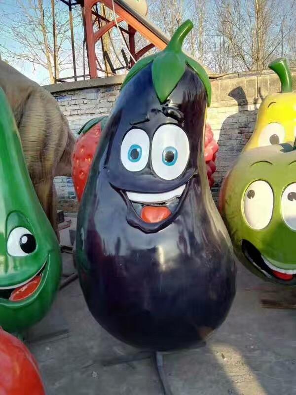 蔬果系列卡通玻璃钢制品