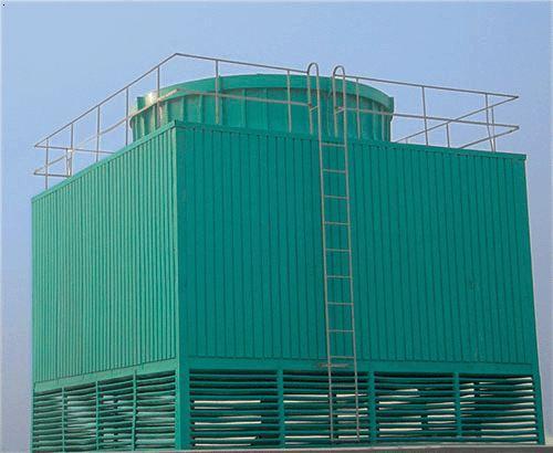 绿色玻璃钢冷却塔