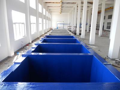 蓝色玻璃钢防腐