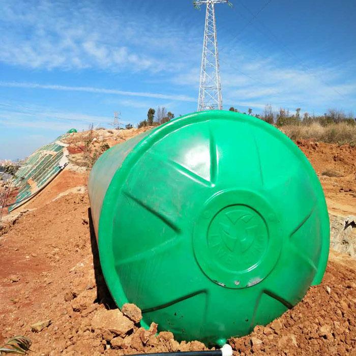 绿色玻璃钢化粪池