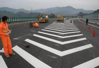 交通标线施工使用广泛的涂料是哪种