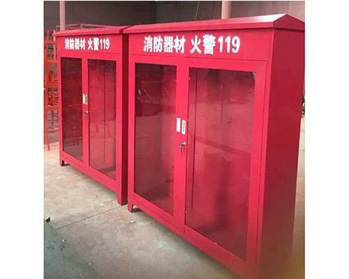 消防器材櫃子(大型、紅色)