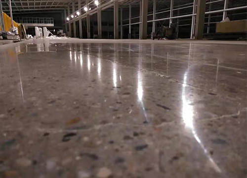 渗透型密封固化剂地坪施工
