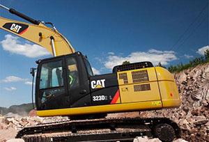 卡特挖掘机维修(323)