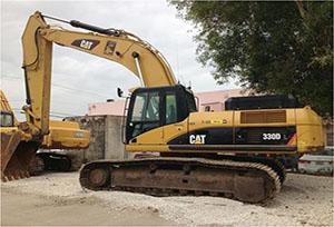 卡特挖掘机维修如何通过试摸判定故障的部位和原因