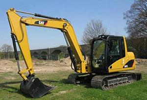 卡特挖掘机维修(307)